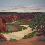 "Canyon De Chelly   16"" x 20"""