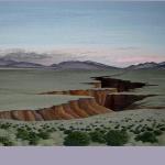Taos Plateau Rio Grande Gorge, 36''x59''