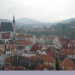 esk Krumlov, Castle View
