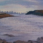 Lower Hudson River, 14''x14''