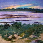 "Sagg Pond, Low Tide   10"" x 10"""