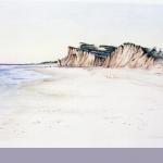 Shadmore Cliffs, colored pencil